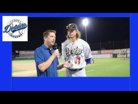 Post Game Chats - D.J. Peters - Dodgers Prospect