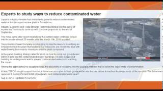 ☢ TEPCO ADMITS They KNEW 2 YEARS AGO, HIGHLY Radioactive Water into Pacific FUKUSHIMA update 8/10/13