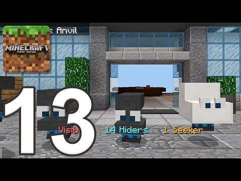 Minecraft: Servers - Gameplay Walkthrough Part 13 - Hide And Seek (iOS, Android)