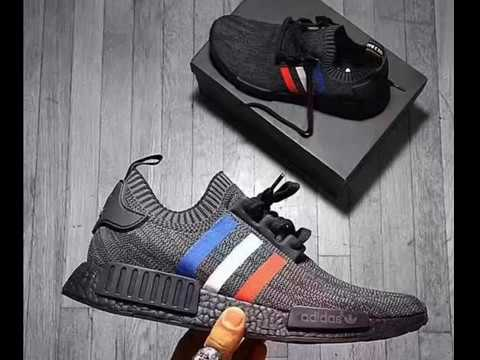 f2255cefd949 adidas nmd r1 pk tricolor primeknit shoes blue white red black review