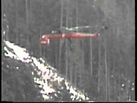 Canadian Aircrane heli logging Sikorsky S64F Shaw Creek (Lake Cowichan) (2)