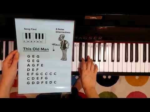 How to play This Old Man on the Piano