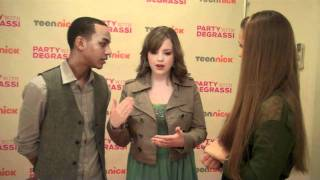 <b>Jahmil</b> French & Aislinn Paul Talk DANCING!