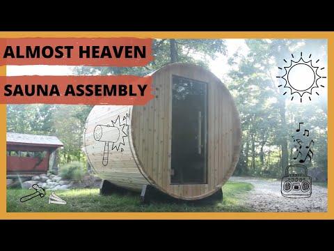 2019 | How To Build A Barrel Sauna (Almost Heaven)