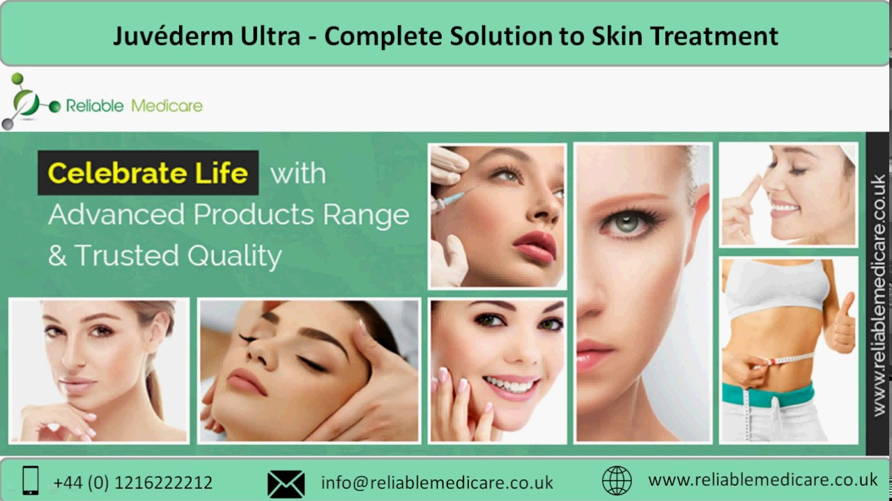 Juvéderm Ultra - Complete Solution to Skin Treatment