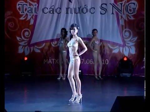Hành trình cùng Hoa hậu thế giới người Việt 2010