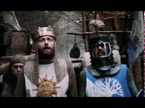Cross Genre - Monty Python's Holy Grail Historical Epic Trailer