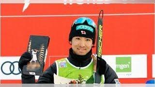 スキーW杯複合、渡部暁斗が2位 今季自己最高