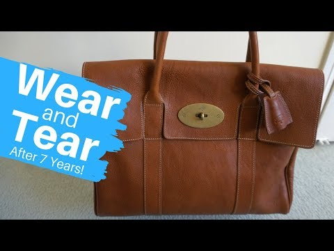 Wear and Tear: Mulberry Heritage Bayswater After 7 Years!