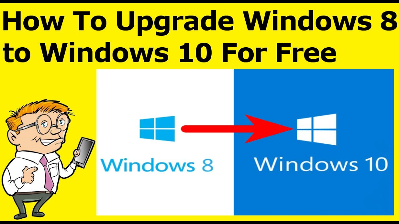upgrade windows 8 to 10 free download