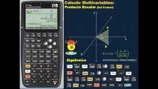 HP 50G: Cálculo Multivariables - Producto Escalar