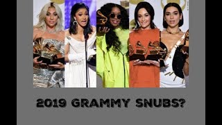 My thoughts on the 2019 GRAMMYS