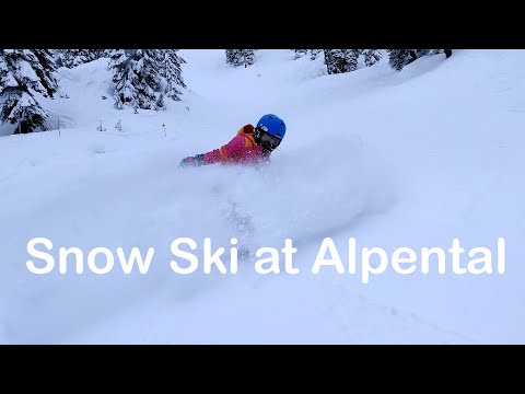 Snow Ski At Alpental | The Summit At Snoqualmie With Trail Map