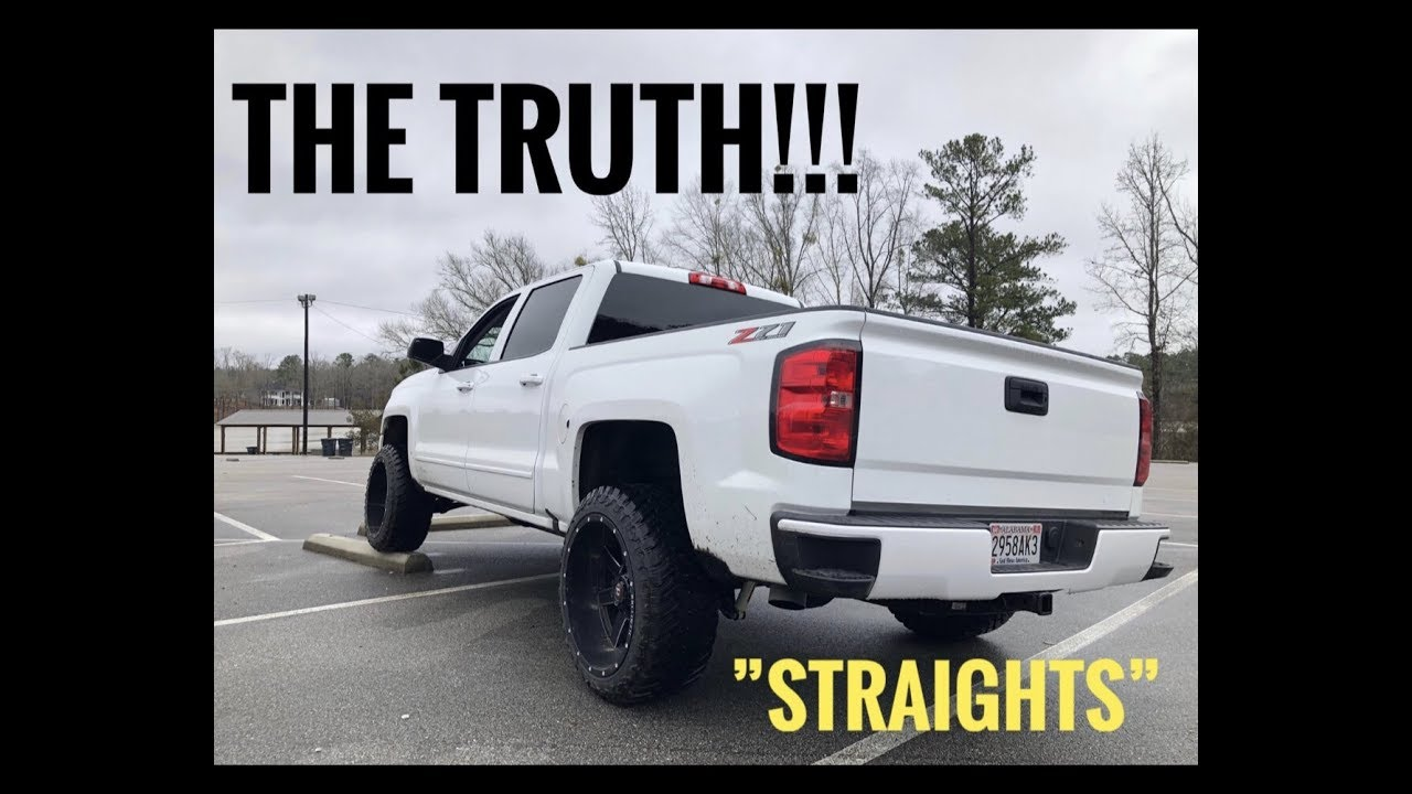 what is straight pipes exhaust talk