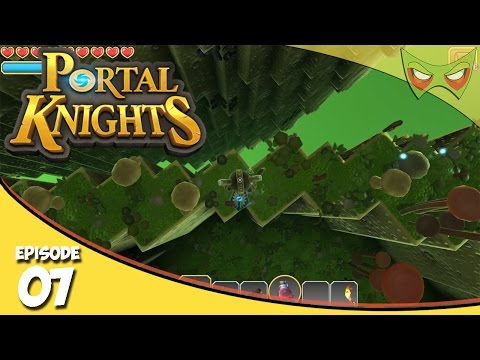 Portal Knights Gameplay - Ep 7 - Iron Ore - Let