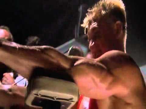 Rocky  4  contro drago (Allenamento )