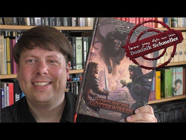 Aventurisches Götterwirken - DSA 5 - Buchbesprechung - Fantasy Rollenspiel