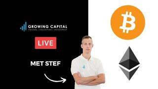 Growing Capital Live Bitcoin, Ethereum is de dump over?!!