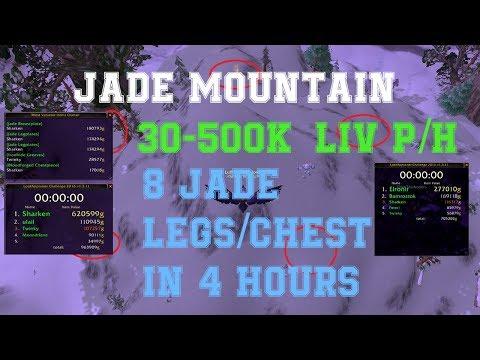 WoW Gold farm - Jade mountain farm (Winterspring)