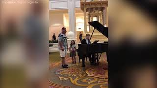 BRAVO! A Dad is going viral after a video of him singing 'Ave Maria' at Disney World surfaced on social media. Look at his daughter's reaction throughout the ...
