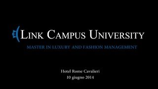 Master in Luxury and Fashion Management