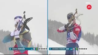 Johannes Thingnes Bø Wins Pursuit Hochfilzen Biathlon 2017