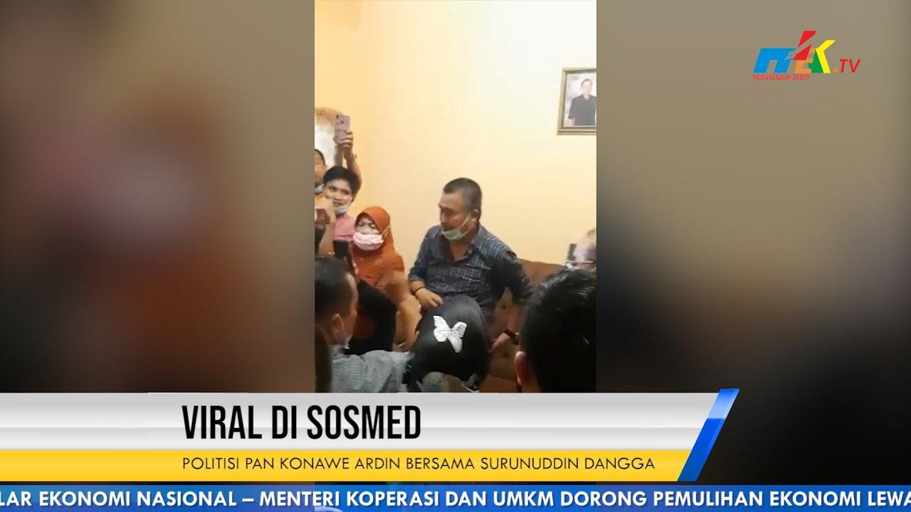 Viral di Sosmed Politisi PAN Konawe Ardin Bersama Surunuddin Dangga