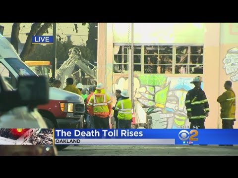 Officials Say Death Toll In Oakland Warehouse Fire Climbs To 33