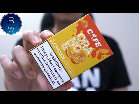 รีวิว หัว Pod Cafe กลิ่นส้มใช้กับ Pod RELX Classic
