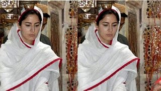Katrina Kaif Prays At The Ajmer Sharif Dargah For The Success Of Fitoor