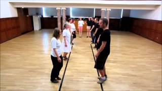 English Country Dance - Emperor of the Moon - with Tutorial - Arbon e.V.