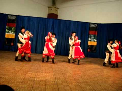 Syrenka Youth Polish Folk Dance Ensemble's Spisz Suite Holiday Folk Fair