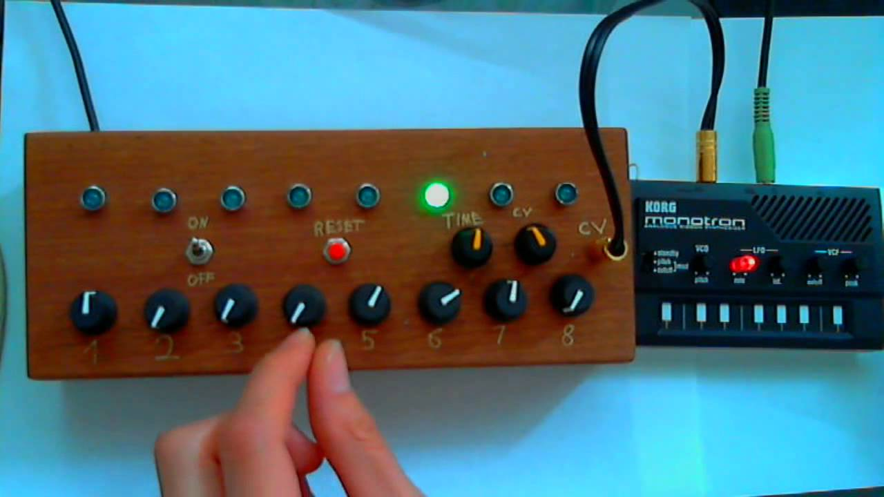 monotron drum sequencer mod