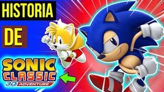 SONIC CLASSIC 3d ADVENTURE é melhor JOGO de FÃ do Sonic 😍