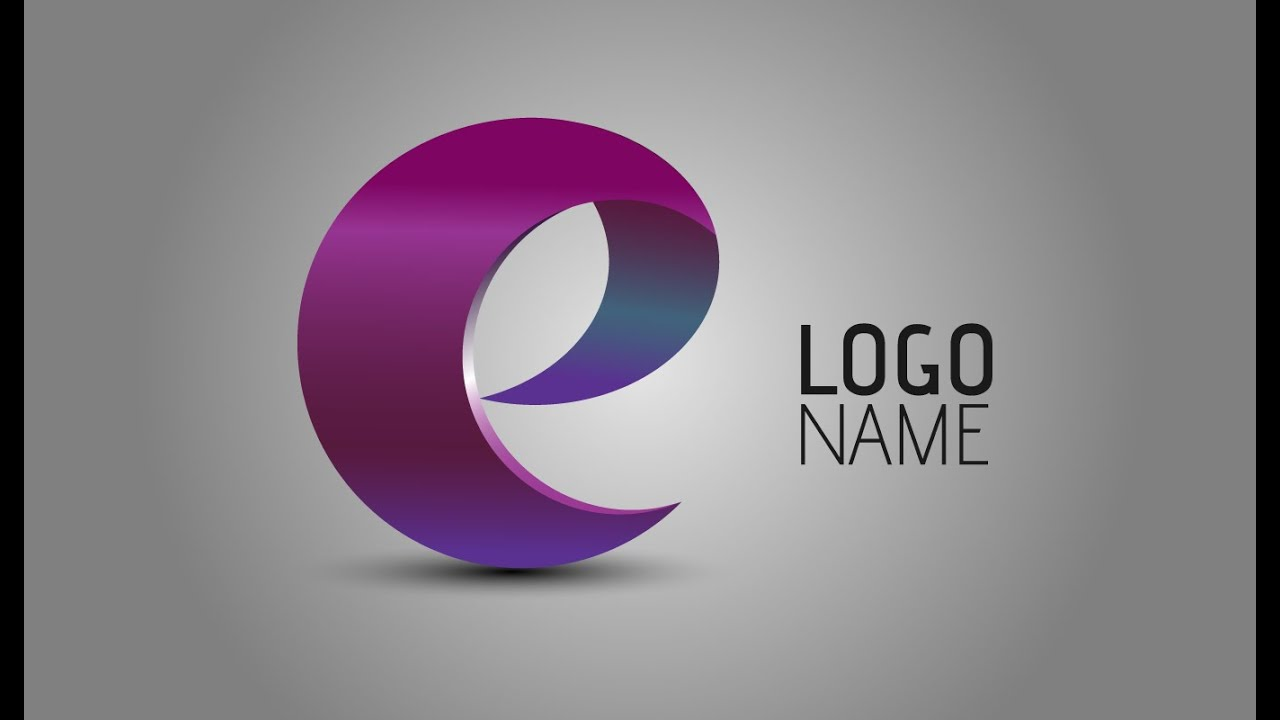 adobe illustrator tutorials how to create 3d logo design