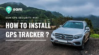 SAM GPS Security Mini - How to install GPS tracker in cars ?