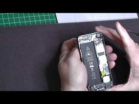 Replacing iPhone 5 battery