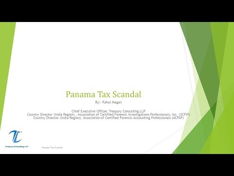 Offshore Tax Centres - Panama Scandal