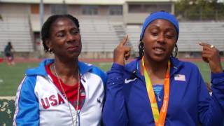 Rosalyn & Breanna Clark - Olympic mom & Paralympic daughter