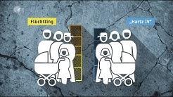 Flüchtling oder Hartz IV-Empfänger - wer bekommt mehr?  - heuteplus | ZDF