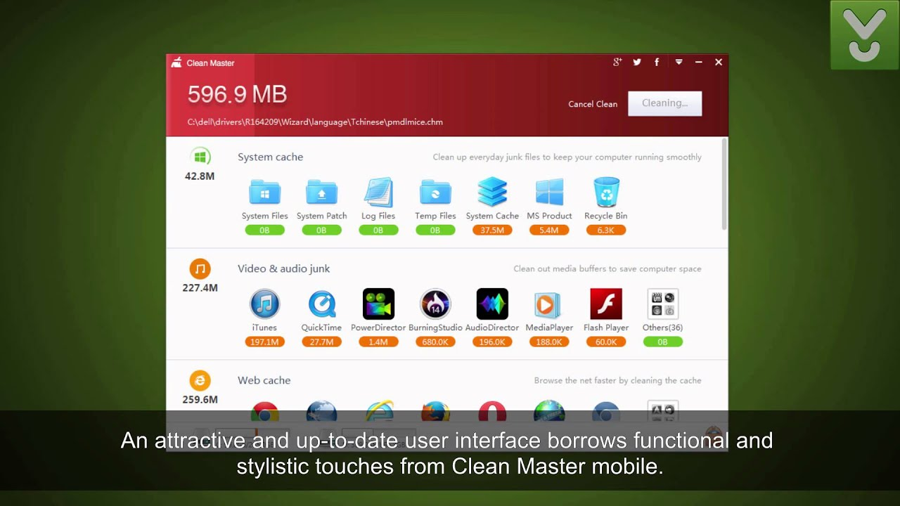 clean master pc download