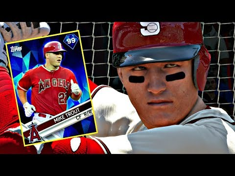 MIKE TROUT DEBUT!! MLB THE SHOW 17 DIAMOND DYNASTY