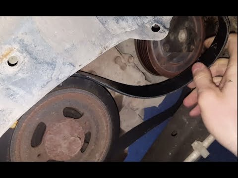 nissan altima serpentine belt replacement - 2008 - youtube  youtube