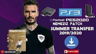 PES 2018 PS3 NEMEZIZ PATCH UPDATE SUMMER TRANSFER 2019-2020