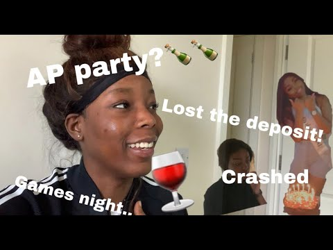 WE HOSTED AN APARTMENT PARTY THEN THIS HAPPENED... vlog
