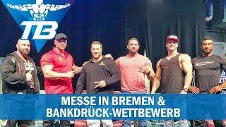 Body Culture in Bremen mit Bankdrückwettbewerb I VLOG