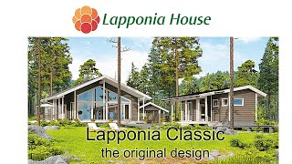 Lapponia Classic - the original design - award winning ecological log homes for healthy living
