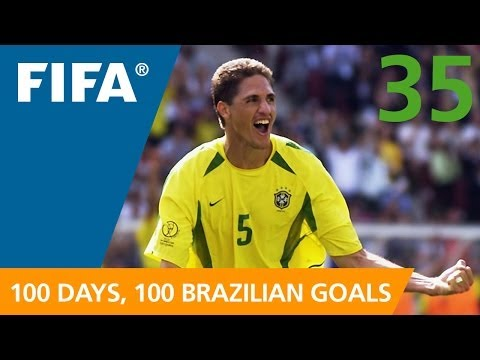 100 Great Brazilian Goals: #35 Edmilson (Korea/Japan 2002)