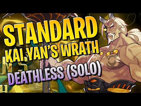 Kai Yan's Wrath Standard: Deathless Solo Gameplay | Dragalia Lost