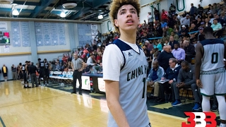 LaMelo Ball Drops 92 points in a Highschool game!! Highlights!!